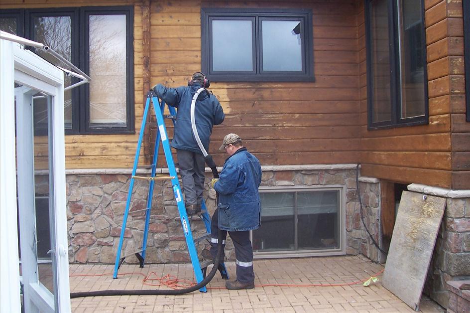 Cedar Log Home 2