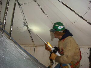 dry ice blasting surface preparation painting