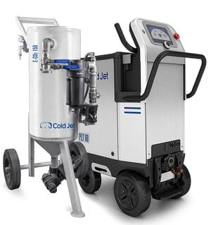E-CO2 dry ice blaster