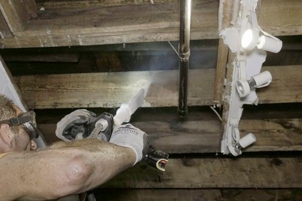 dry ice blasting fire restoration
