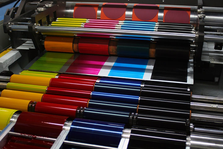dry ice blasting printing