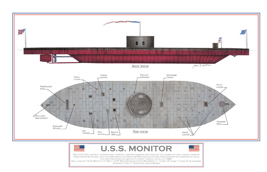 USS Monitor_Historical Restoration