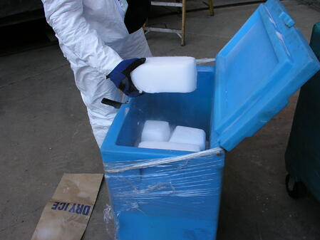 dry ice delivery
