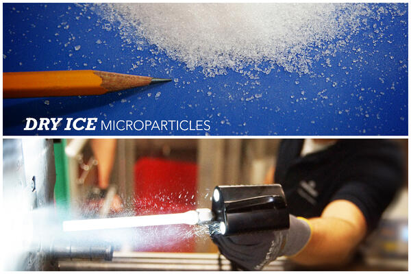 what is dry ice blasting