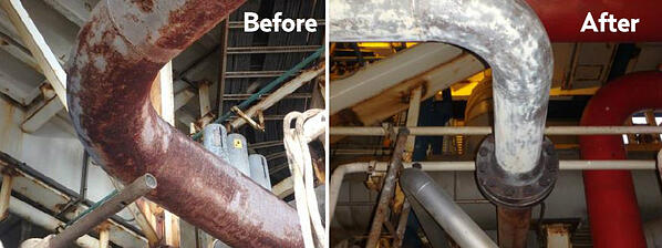 oil and gas corrosion before after 2
